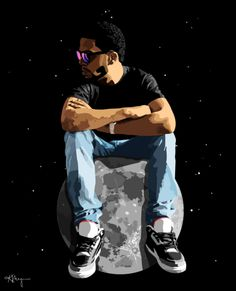 Up on the moon Kid Cudi Quotes, Rap Quotes, Lyric Quotes, Tyler The Creator Tattoos, Kid Cudi Tattoos, Maroon 5 Lyrics, Dope Wallpapers, Hip Hop Art, Man On The Moon