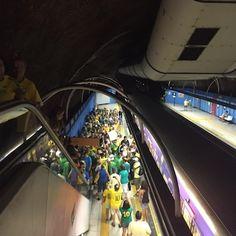 Superlotação em Copacabana