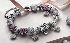 pandora bracelets | Charms Addict | Pandora Valentine's Collection Officially Launches