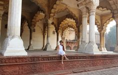 The grand open-air hall at Agra Fort, Agra, India. katiesargentdesign.com Interior Design Studio, Interior Design Services, Agra Fort, India, Landscape, Travel, Nest Design, Goa India, Viajes