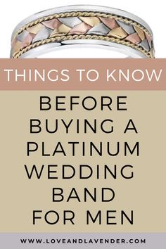 Things to know before buying a platinum wedding band for men Wedding Men, Wedding Blog, Wedding Bands, Honeymoon Planning, Wedding Planning, Perfect Together, Platinum Wedding, Bridal Ring Sets, Classic Gold
