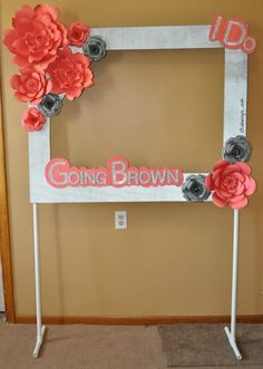 Image result for how to make a large picture frame for a party