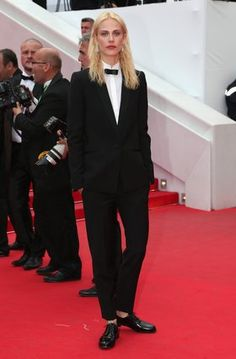 Aymeline Valade - Model-turned-actress Aymeline Valade's Saint Laurent tuxedo at the Cannes Film Festival was the stuff of red carpet dreams. Valade's off-duty style is just as memorable, too. Click through our street style slideshows and Valade will pop up dozens of times, making everything from a Lacoste polo shirt to a dainty Chloé dress look all her own.
