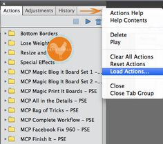 How to Install Actions in Photoshop Elements 11