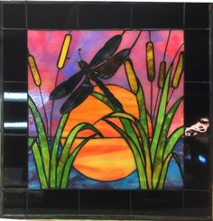 Dragonfly Stained Glass, Stained Glass Door, Glass Butterfly, Stained Glass Designs, Stained Glass Panels, Stained Glass Projects, Stained Glass Patterns, Dragonfly Painting, Mosaic Art
