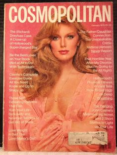 February 1979 cover with Patti Hansen photographed by the late Francesco Scavullo