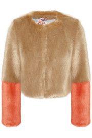 ShrimpsBailey cropped faux fur jacket