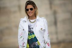 Les plus beaux streetlooks de la Fashion Week de Paris