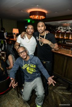 nelly and ti   Trey, T.I. and Nelly! - Trey Songz Photos