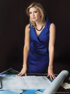Ivanka Trump, VP of real estate development and acquisitions, Trump Organization. | Dolce Vita luxury magazine