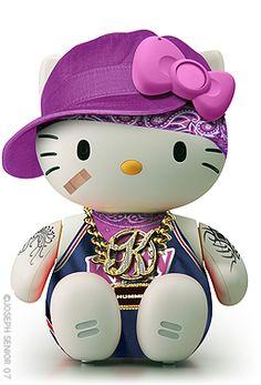 Hello Gangsta Kitty