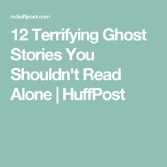 Whether you believe in ghosts or not, it's tough not to get freaked out when you're alone and you hear something bump in the night or even hear a voice.
