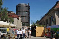 Projektbesuch: Grenzenlos am Gaswerk Augsburg
