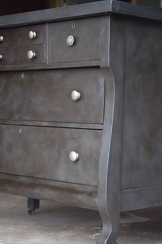 Vintage Empire Dresser refinished in Annie Sloan Chalk Paint