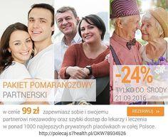 Pakiet pomarańczowy partnerski - promocja