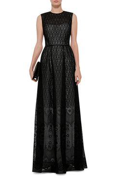 NO. 21 Antonia Maxi Printed Dress With Cutout Back