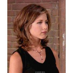 Jennifer Aniston's Most Popular Haircut: The Rachel - Jennifer Aniston Hairstyles found on Polyvore