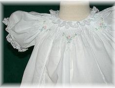 Lacey Christening Gown by Auburn Rose Boutique, via Flickr