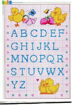246 Fantastiche Immagini Su Alfabeto A Punto Croce Cross Stitch