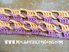 Single Weave and Link Stitch 15