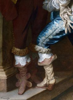 ANTHONIS VAN DYCK - Lord John Stuart and his Brother Lord Bernard Stuart