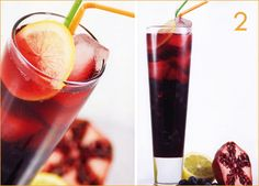 Non alcoholic drinks