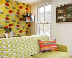 Tamasyn's Colorful, Patterned London Flat