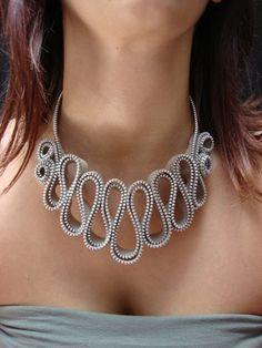 Silvia Mazzoli: Zipper Necklace