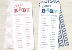 Unique Baby Shower Games Intended For Ucwords]