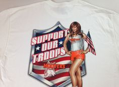 Hooters Sexy Girl T-Shirt Support Our Troops Big Boobs NEW Patriotic Flag Beer http://www.ebay.com/itm/Hooters-Sexy-Girl-T-Shirt-Support-Our-Troops-Big-Boobs-NEW-Patriotic-Flag-Beer-/252435458532?roken=cUgayN&soutkn=uK1u4m #bogo #america #military #army #navy