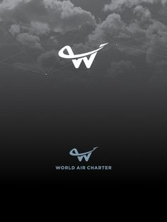 World Air Charter Logo | #corporate #branding #creative #logo #personalized #identity #design #corporatedesign < repinned by www.BlickeDeeler.de | Visit our website www.blickedeeler.de/leistungen/corporate-design/logo-gestaltung