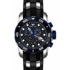 Invicta Men's 17878 Pro Diver Quartz Multifunction Black Dial Watch
