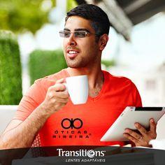 Nas situações mais cotidianas é que a gente percebe a diferença de estar acompanhado das lentes Transitions! Pois elas se adaptam a qualquer condição de luminosidade, oferecendo conforto e 100% de proteção UV!  Em nossas lojas, existem especialistas que podem ajudar você a escolher as suas lentes Transitions! Faça - nos uma visita!   https://plus.google.com/+oticasribeiraregistro/posts/g4b43Jt7tRs