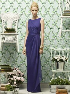 mother of the bride dresses purple empire waist - Google Search