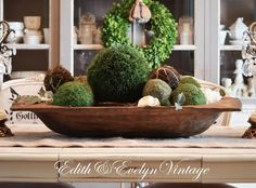 Another Fabulous Book Club Artichokes Dough Bowl And Centerpieces