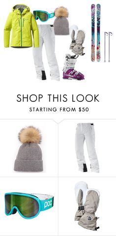 ski outfit by lily-kathryn-arnold on Polyvore featuring Patagonia, Salomon, POC, Pyra, women's clothing, women's fashion, women, female, woman and misses
