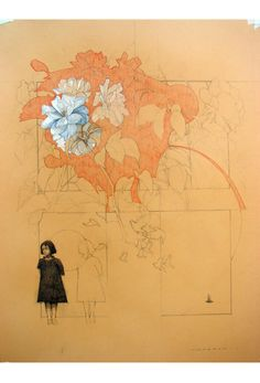 Drawings by Federico Infante, via Behance Sketchbook Inspiration, Art Sketchbook, Art And Illustration, Art Inspo, Ouvrages D'art, Art Design, Painting & Drawing, Art Reference, Illustrators