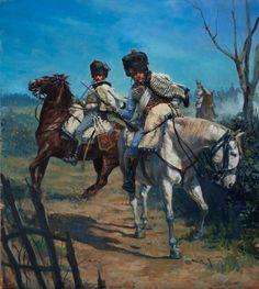 Hussars by Karl Kopinski  ( https://www.facebook.com/pages/Art-of-Karl-Kopinski/382449358500042 )