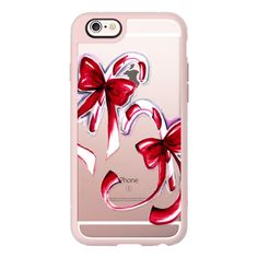 iPhone 6 Plus/6/5/5s/5c Case - Christmas lollipops ($40) ❤ liked on Polyvore featuring accessories, tech accessories, iphone case, iphone hard case, apple iphone cases and iphone cover case