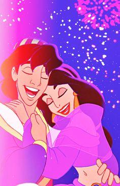 Aladdin and Jasmine :)