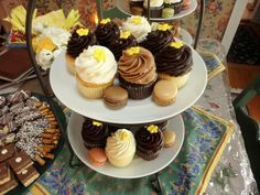 Scone Pony cupcakes & macaroons; Spring Lake, NJ