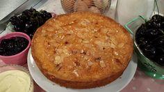 Gluten-free cherry and almond Cake