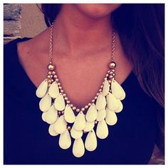 Bubble necklace.