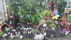 New Smurfs Garden