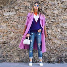 PFW Day 2 - Look Multi-color anna fasano
