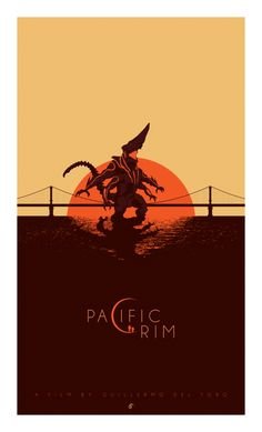 Here's the second part of a collection of poster art created by several artists for Guillermo del Toro 's Pacific Rim for Blurppy . This is the same site that organized a collection of movie poster art for Star Trek Into Darkness &nbs Pacific Rim Kaiju, Best Movie Posters, Cool Posters, Art Posters, Poster Prints, Godzilla, Comics Anime, Kunst Poster, Fan Art