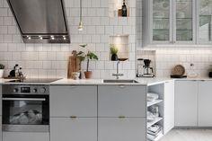 Charmigt kök - 34 kvadrat - Metro Mode