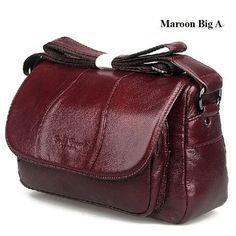 cowhide women's bags first layer of genuine leather messenger bag female casual ladies handbag shoulder bag