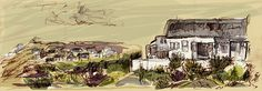 Arniston Fishing village South Africa by Jambo julie, via Flickr Fishing Villages, Town And Country, South Africa, Sketches, Drawings, Photos, Painting, Art, Art Background