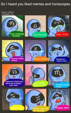 Horoscope meme :D